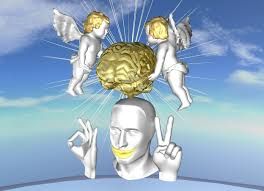 Image result for brain of an angel cartoon
