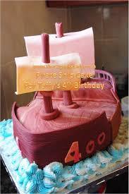 A Pirate Ship Cake For Taffy