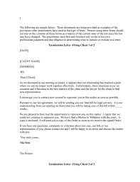 Client Termination Letter 24 Termination Letter Templates Samples Examples Formats 1