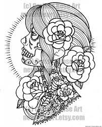 Sugar Skulls Mandalas Printables Sugar Skull Designs Coloring