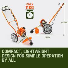 62cc 3in1 wheeled brush cutter btr600 by mtm