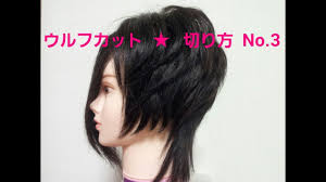ホスト風 髪型 ウルフカットトップのボリュームナチュラル盛りゾーンの切り方