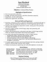 Clerical Resume Templates - Gcenmedia.com - Gcenmedia.com