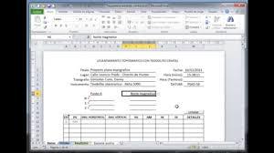Formato De Minuta En Excel Taquimetria Digital Teodolito Excel Para Topografia