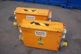 blakley site transformer fuse box 63amp 110v ebay fuse before or after transformer at Fuse Box Transformer