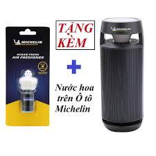 Máy khử mùi ô tô, lọc không khí Michelin - phù hợp cho Xe hơi, Phòng làm  việc [+ tặng nước hoa ô tô Michelin] - Nước hoa, Nước hoa khử mùi,