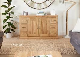 mobel oak console table. Mobel Oak Six Drawer Sideboard Console Table 5