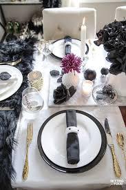 easy elegant halloween table