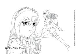 Anime Drawing Coloring Pages Death Note Colouring Pages Black