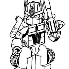 Small Picture Transformers Optimus Prime Coloring Page Free Coloring Pages on