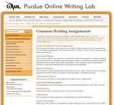 Purdue Online Writing Lab Review For Teachers Common Sense Education