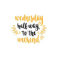 Wednesday Quotes Custom Week Days Motivation Quotes Wednesday Royalty Free Cliparts