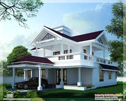 Sloping Roof Design Ideas 2600 Sq Feet Modern Sloping Roof Home Design Cool Design Home