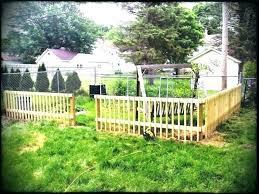 diy fence ideas dog fence ideas indoor dog fence medium of options inexpensive fencing ideas