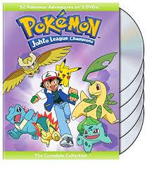 pokemon joto league. Contemporary League Amazoncom Pokemon Johto League Champions  The Complete Collection  Various Movies U0026 TV Inside Joto Amazoncom