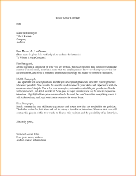 Cover Letter Without Address Cv Resume Ideas