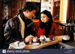 Vincent Cassel Monica Bellucci The Apartment 1996 Stock Photo