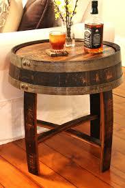 used wine barrel furniture. Furniture:Bourbon Barrel Full End Table Winsome Weave Metal Whiskey Diy Wine Pinterest Used Furniture