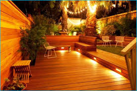 brilliant deck lighting charming outdoor deck ideas for designs website throughout