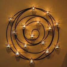 spiral votive candle holder spiral