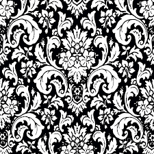 paisley pattern black and white paisley pattern vintage painting by saundra myles