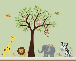 jungle nursery decals jungle wall decals design