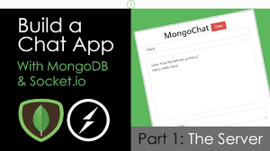 Chat Server Database Design Build A Chat App With Mongodb Socket Io Part 1