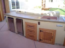 Outdoor Kitchen Cabinet Doors Enchanting Design Outdoor Kitchen Cabinets  And Surprising Exterior Kitchen Doors With Custom