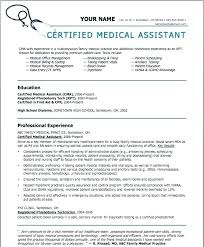Medical Assistant Duties For Resume – Districte15.info
