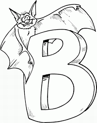 Small Picture Bat Coloring Pages