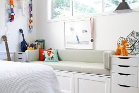 ikea bench seat with lots of storage
