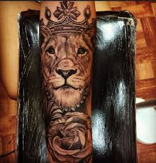 lioness with crown tattoo. Modren With Queen Lioness Tattoo  Google Search On Lioness With Crown Tattoo