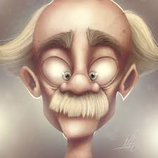 Crazy Painting Crazy Old Man Speed Painting By Art Of Matsmyrvold On Deviantart