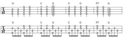 きらきら 星 ギター コード