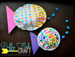 Kids Craft Puffy Fish Kids Craft I Heart Crafty Things