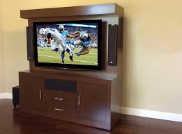 modern espresso triple play entertainment center three tv wall system
