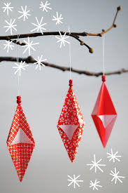 origami paper ornaments and garlands