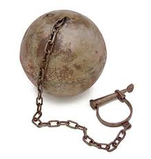 Ball N Chain Big Mama Thornton Amazoncom Old West Ball n Chain With Leg Cuff Other Products