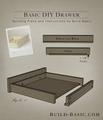 Build a Basic DIY Drawer - Building Plans by @BuildBasic www.build-basic