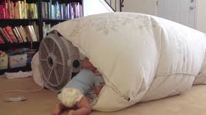 Easy Forts To Build Fan Blanket Fort Youtube