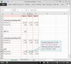 Vat Calculation Formula In Excel Download Calculation Doubts Spreadsheet Risk Inspections Perfectxl