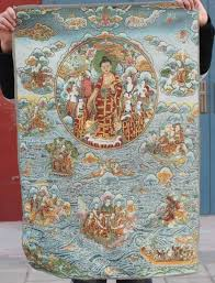 <b>Chinese Boutique collection the</b> Thangka embroidery Buddha diagram