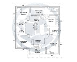 1500 sq ft house plans 3 bedrooms elegant new home plans kerala style indian style home