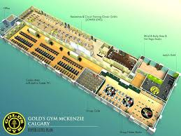 Gym Floor Plan Fitness Marketing Services Facility Design Layout