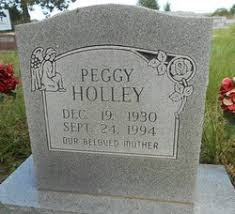 Peggy Watkins Holley (1930-1994) - Find A Grave Memorial