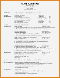 Airline Pilot Resume Lovely Aviation Resume Examples Images Pilot