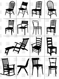 rocking chair silhouette. Plain Silhouette Rocking Chair Silhouette Chair Silhouette Vector Silhouettes Of Home  Chairs Chaise Longue And Rocking On I