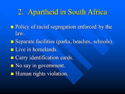 review for test africa and southeast asia no essay multiple  apartheid in south africa policy of racial segregation enforced by the law