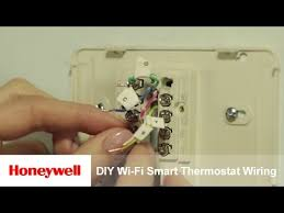 honeywell diy wi fi smart thermostat wiring and installation honeywell diy wi fi smart thermostat wiring and installation rth9580wf training honeywell