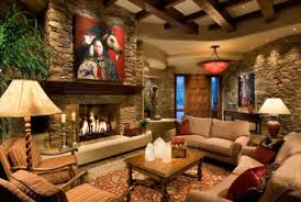 country style living rooms. Plain Living Interior Stone Wall In Country Style Living Room On Rooms E